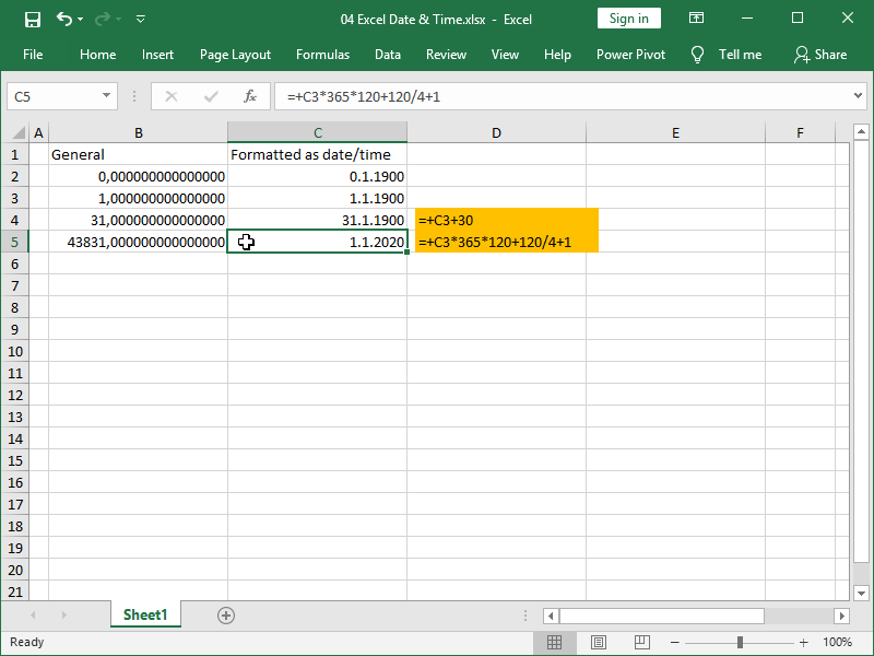 excel calculate date