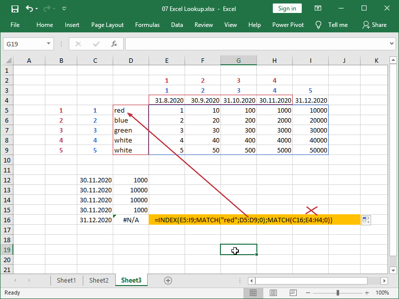 excel index match match partial and error