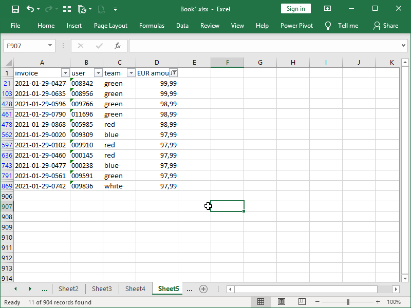 top 10s in Excel_AutoFilter result